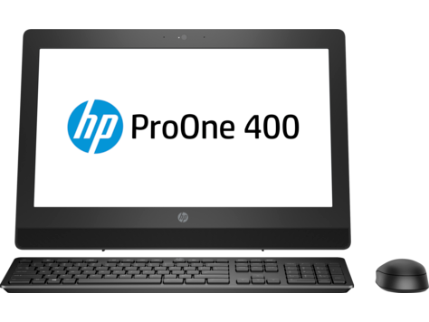 PC HP ProOne 400 G3 de 20 pulgadas, no táctil, All-in-One