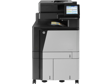 HP Color LaserJet Managed 流程 MFP M880 系列