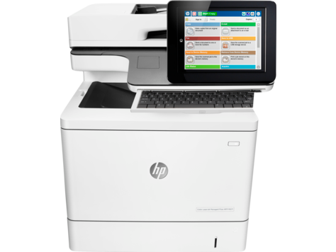 HP Color LaserJet Managed MFP M577 series
