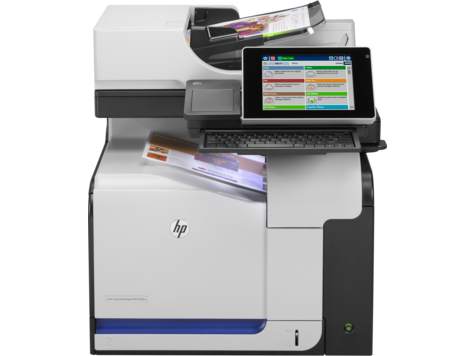 Серия МФУ HP Color LaserJet Managed M575