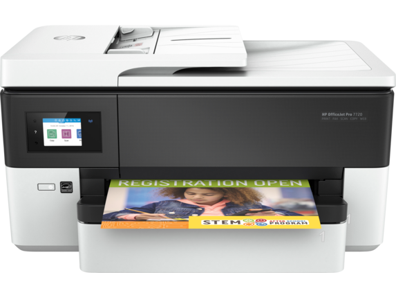 HP OfficeJet Pro 7720 Wide Format All-in-One Printer - Center
