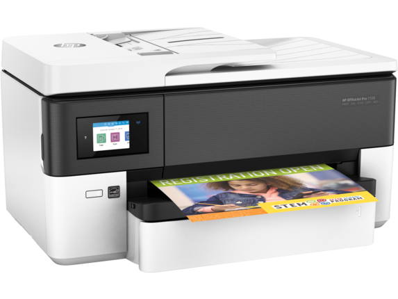 HP OfficeJet Pro 7720 Wide Format All-in-One Printer - Right