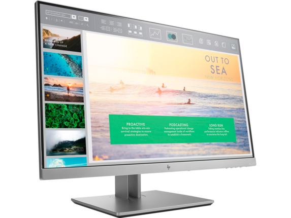 HP EliteDisplay E233 23-inch Monitor - Right