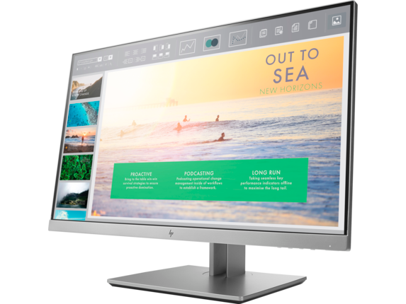 HP EliteDisplay E233 23-inch Monitor - Left
