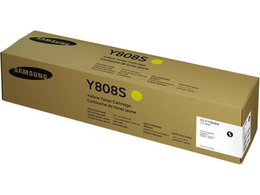 Samsung CLT-Y808S Yellow Toner Cartridge