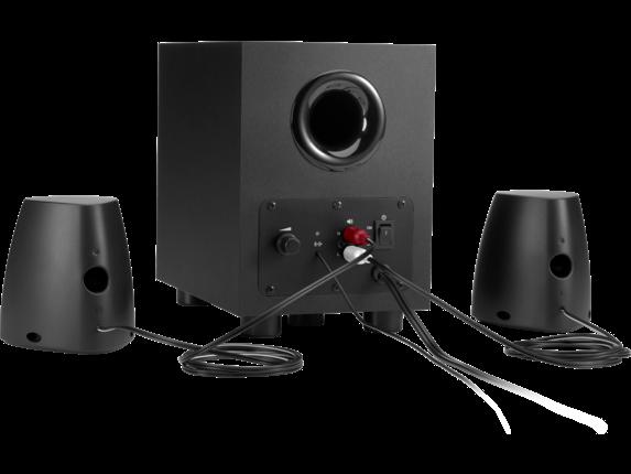 HP Speaker System 400 - Rear