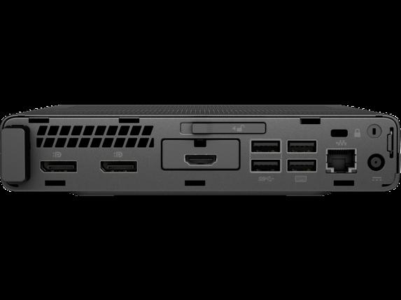 HP EliteDesk 800 G3 Desktop Mini PC - Customizable - Rear