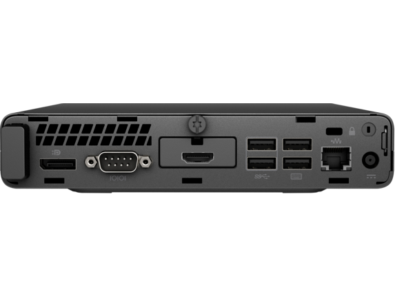 HP ProDesk 400 G3 Desktop Mini PC - Customizable - Rear