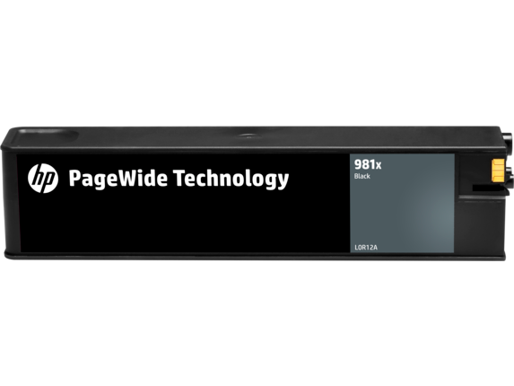 HP 981X High Yield Black Original PageWide Cartridge - Center
