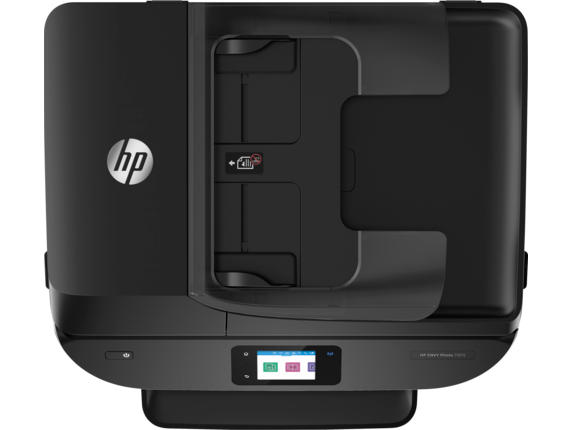 HP ENVY Photo 7855 All-in-One Printer - Top view closed