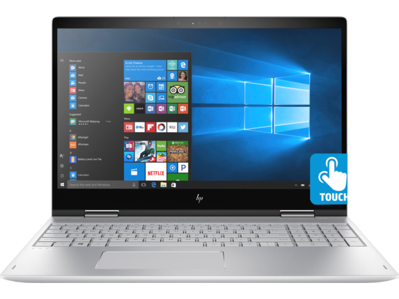 HP ENVY x360 Convertible Laptop - 15t - Center