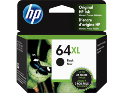 HP 64XL High Yield Black Original Ink Cartridge