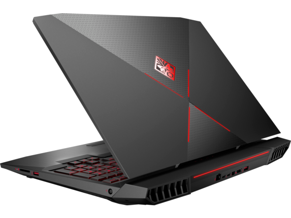 OMEN X by HP - 17-ap051nr - Left rear
