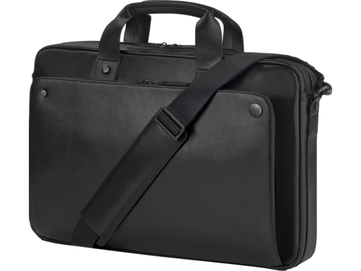 HP Executive Black Leather 15.6 Top Load