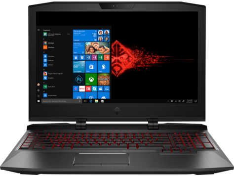 HP OMEN X laptop - 17-ap000