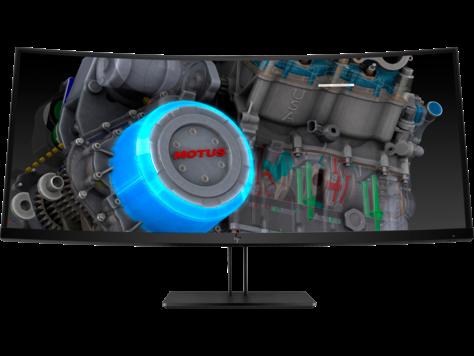 HP Z38c gekrümmtes 37,5-Zoll-Display