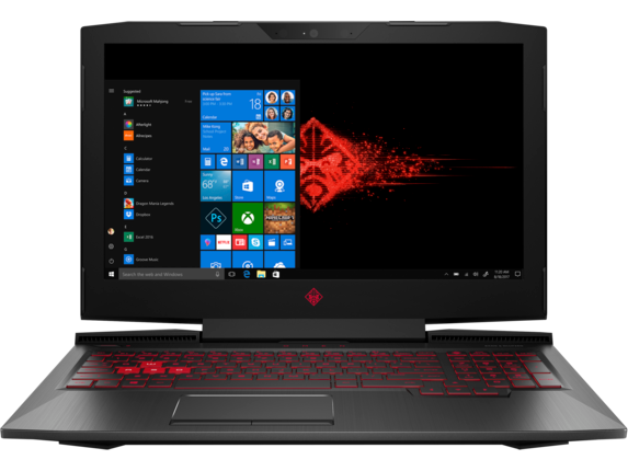 "HP OMEN 15-ce051nr 15.6"" 4K UHD Intel Quad Core i7 Laptop"