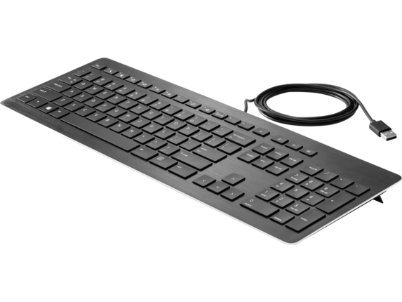 HP USB Premium Keyboard - Left