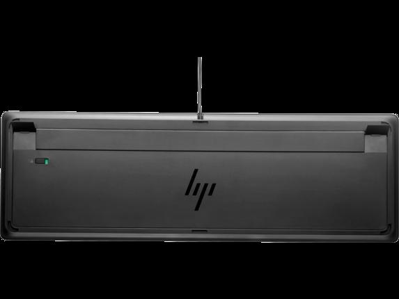 HP USB Premium Keyboard - Rear