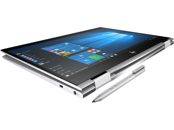 HP EliteBook x360 1020 G2 with HP Sure View - Top view closed
