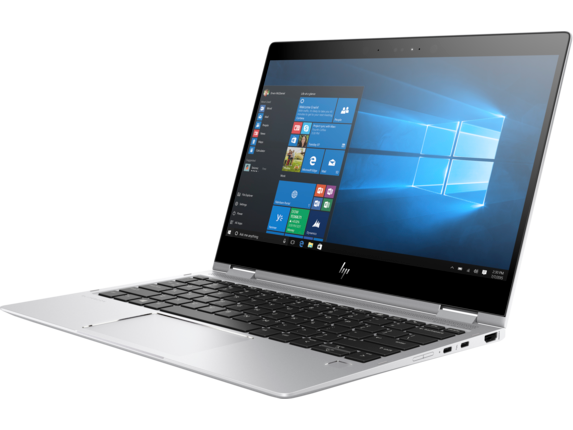 HP EliteBook x360 1020 G2 with HP Sure View - Left