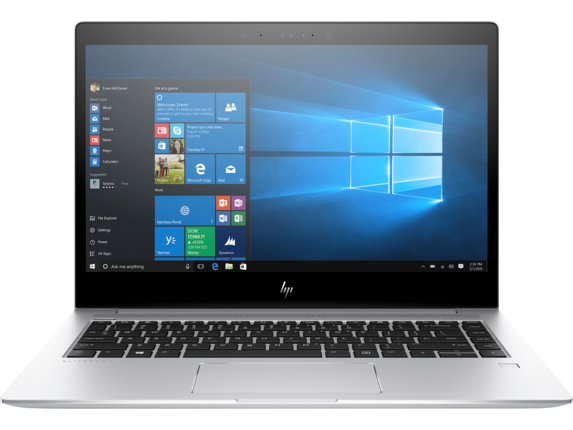 HP EliteBook 1040 G4 Notebook PC with HP Sure View - Center