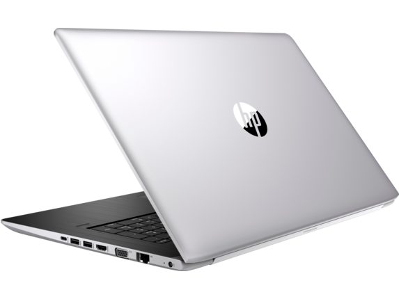 HP ProBook 470 G5 Notebook PC - Left rear
