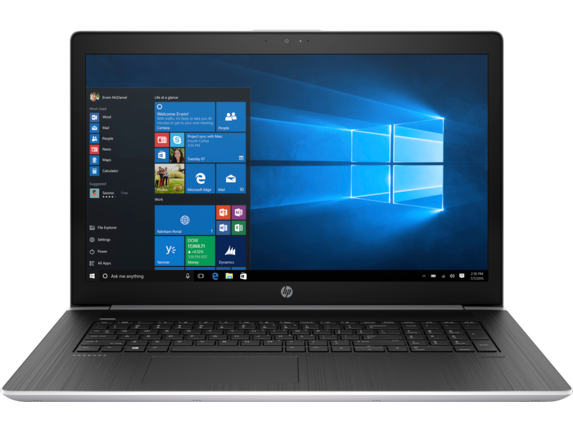 HP ProBook 470 G5 Notebook PC - Center