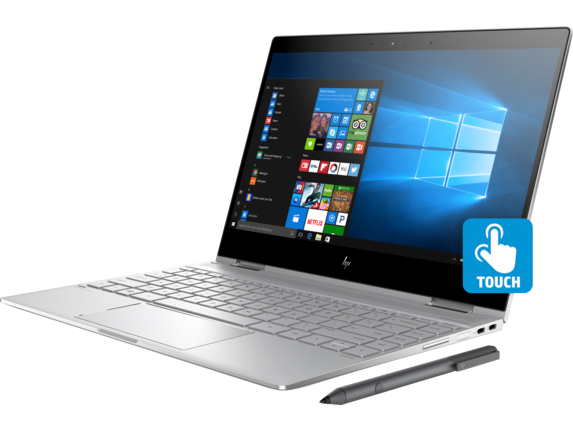 HP Spectre x360 Convertible  Laptop - 13t touch - Left