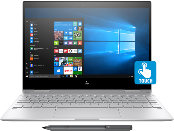 HP Spectre x360 Convertible  Laptop - 13t touch - Center