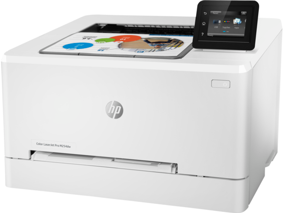 HP Color LaserJet Pro M254dw - Left