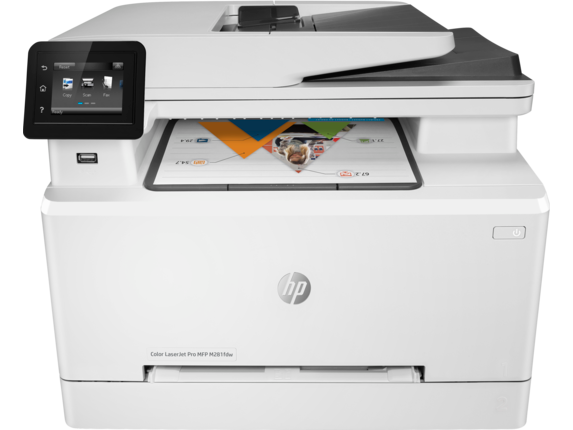 HP Color LaserJet Pro MFP M281fdw - Center