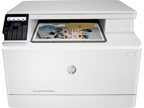 HP Color LaserJet Pro MFP M180nw - Center