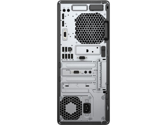 HP EliteDesk 800 G3 Tower PC - Customizable - Rear
