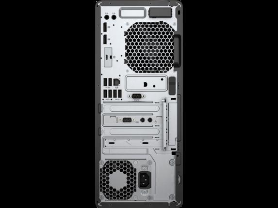 HP EliteDesk 800 G3 Tower PC - Customizable - Rear