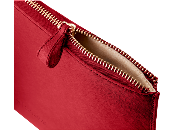 HP Spectre 13.3 Leather Sleeve - Detail view