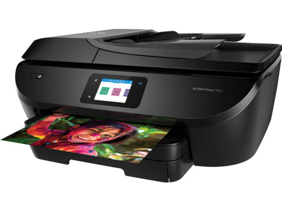 HP ENVY Photo 7855 All-in-One Printer - Left