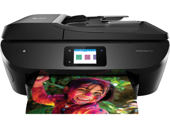 HP ENVY Photo 7855 All-in-One Printer - Center