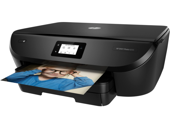 HP ENVY Photo 6255 All-in-One Printer - Left