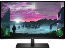 HP 27x Curved Display