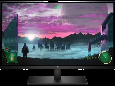 Prohnutý monitor HP 27x