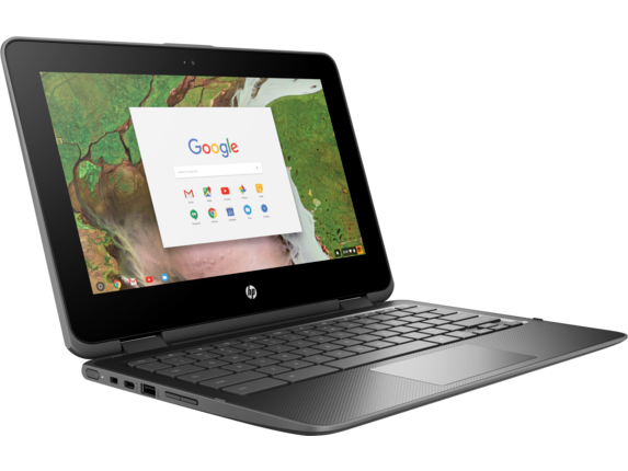 HP Chromebook x360 - 11-ae010nr - Right