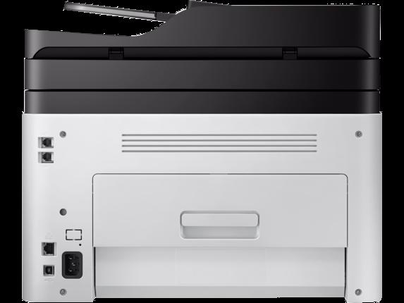 Samsung Xpress SL-C480FW Color Laser Multifunction Printer - Rear
