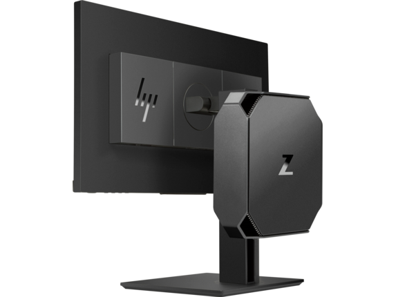 HP Z2 Mini G3 Workstation for 3D Workflows - Rear