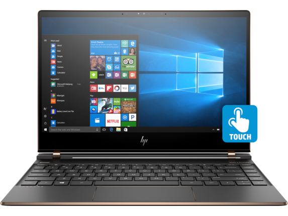 New HP Spectre X360 15t Core i7-8705G, 16G, 512G SSD, 15.6 4K, Touch - 8