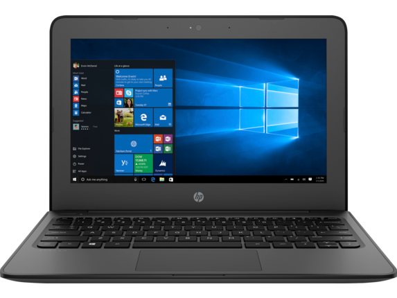HP Stream 11 Pro G4 EE Notebook PC - Customizable - Center |Smoke Gray
