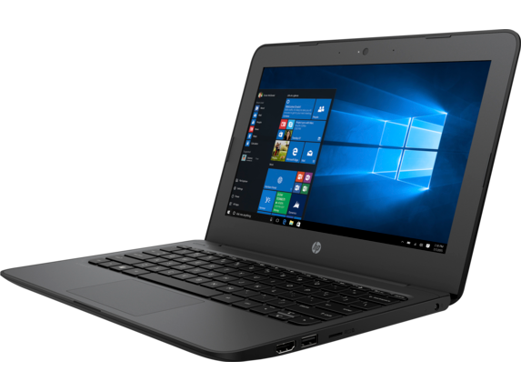 HP Stream 11 Pro G4 EE Notebook PC - Customizable - Left |Smoke Gray