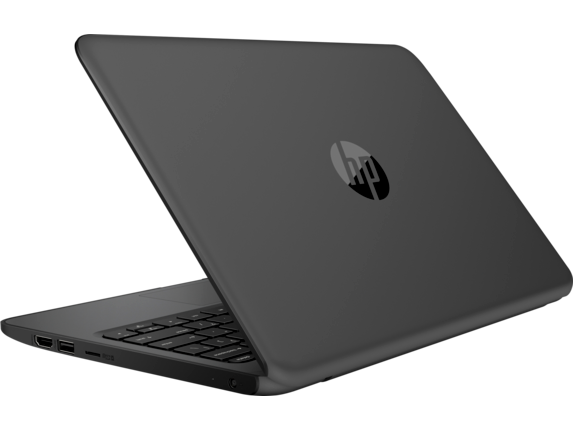 HP Stream 11 Pro G4 EE Notebook PC - Customizable - Left rear |Smoke Gray