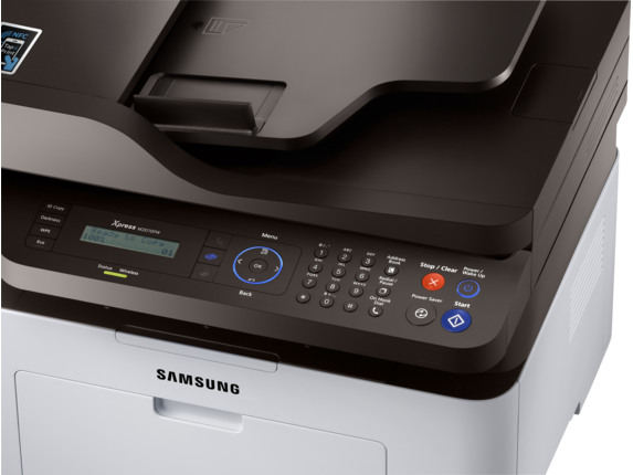 Samsung Xpress SL-M2070FW Laser Multifunction Printer - Detail view