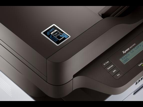 Samsung Xpress SL-M2070FW Laser Multifunction Printer - Detail view